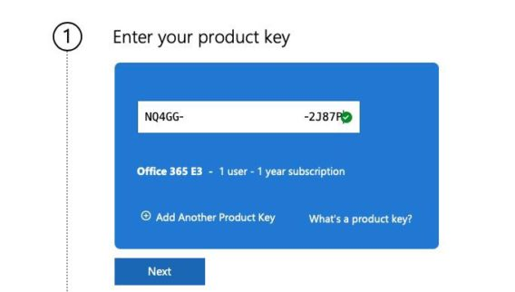 office 365 E3 1user 1 year for 5 device