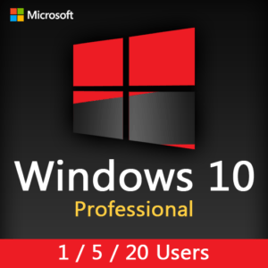 WINDOWS 10 PRO (1-5-20 Users)