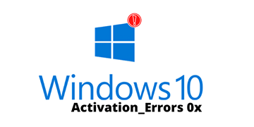 Fix Windows 10 activation errors 0x