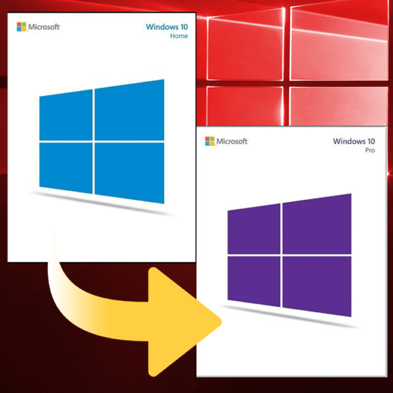 Windows 10 Key Upgrade from Home to Pro