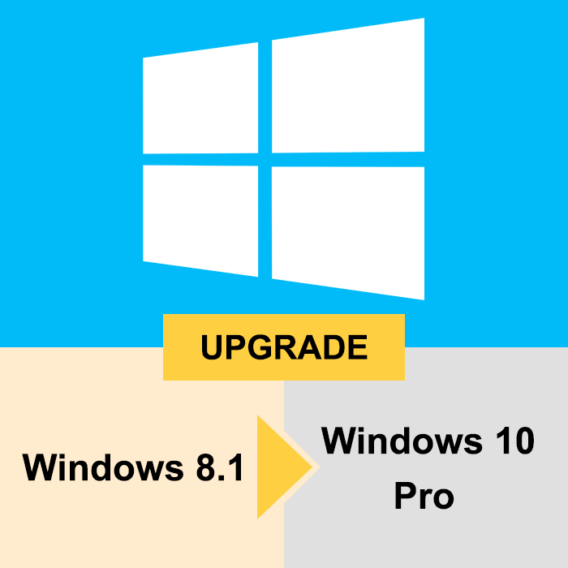 Windows 8.1 Upgrade to Windows 10 Professional