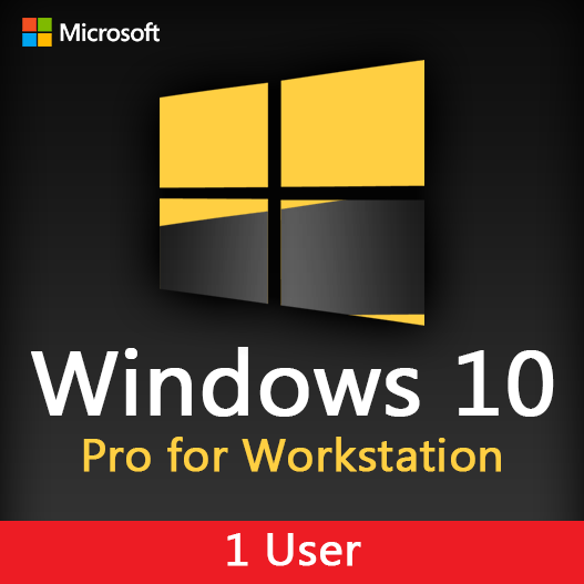 Microsoft Windows 10 Pro for Workstation license key for 1 user