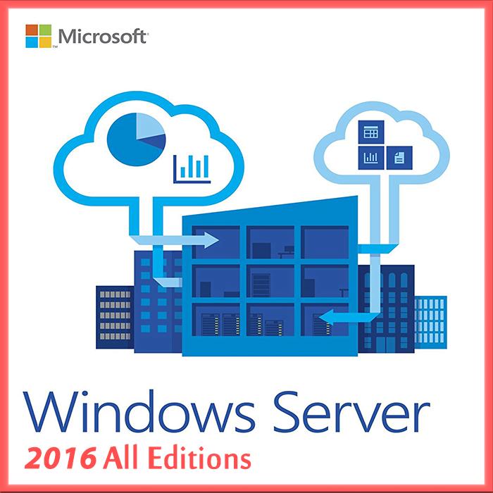 Windows Server 2016 All Editions