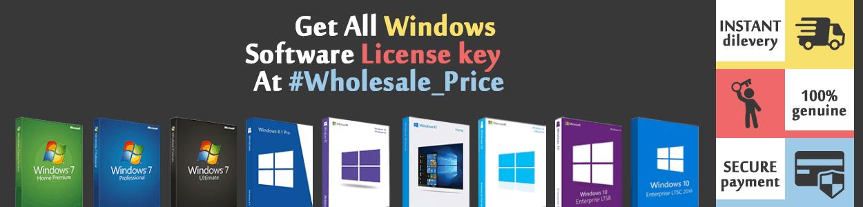 Windows activation license key