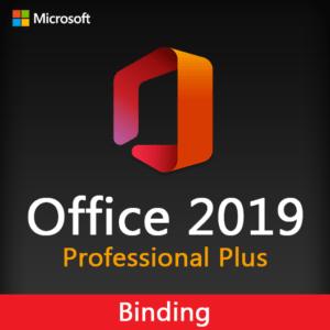 Office 2019 Professional Plus Binding