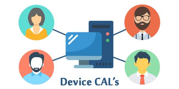 Remote Desktop Services Device CALs