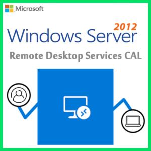 Windows Server 2012 Remote Desktop Services CAL