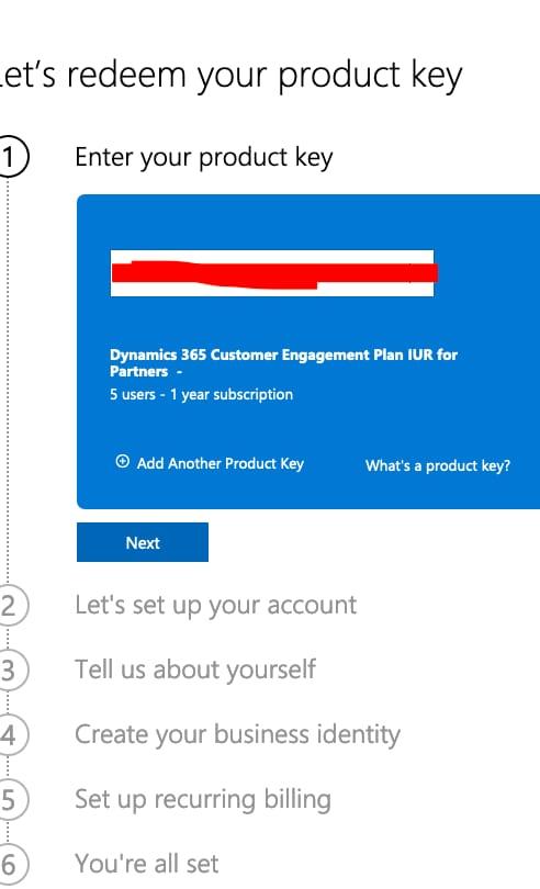 Buy Dynamics 365 Customer Engagement Plan License Key