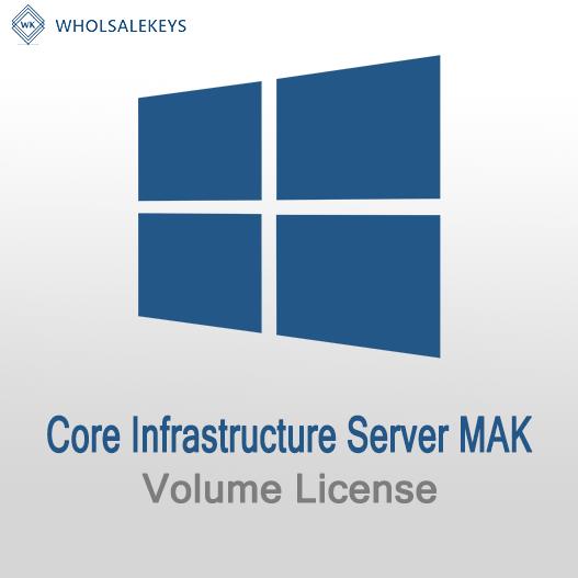 Core Infrastructure Server Mak Volume License