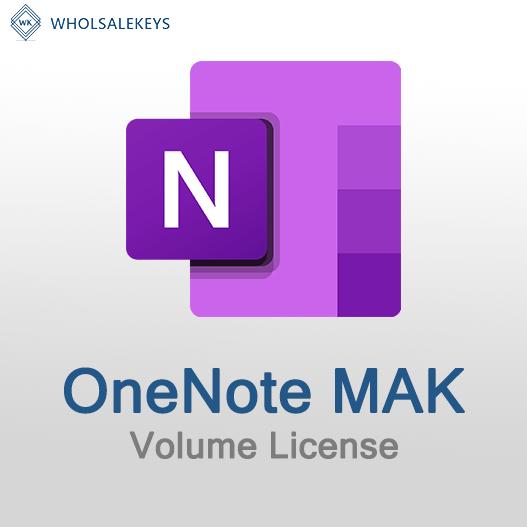 OneNote Mak Volume License