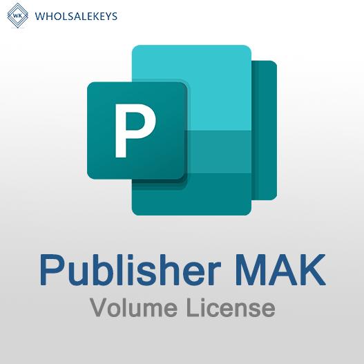 Publisher Mak Volume License