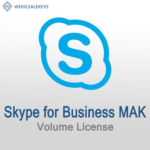 Skype for Business Mak Volume License