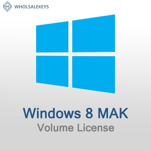 Windows 8 Mak Volume License