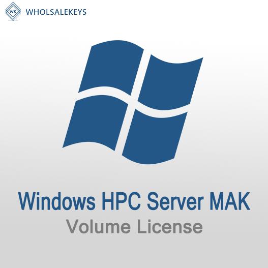 Windows HPC Server Mak Volume License