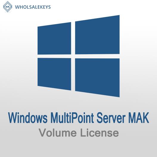 Windows MultiPoint Server Mak Volume License