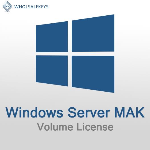 Windows Server Mak Volume License