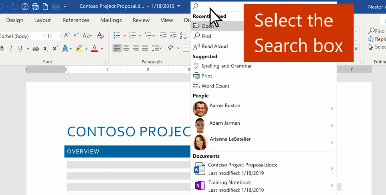 Find what you need with Microsoft Search
