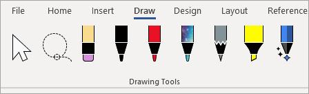 Updated Draw tab