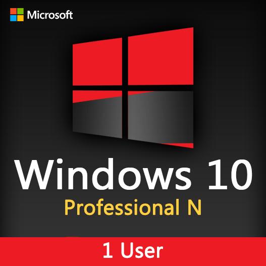 Windows 10 Professional N License key
