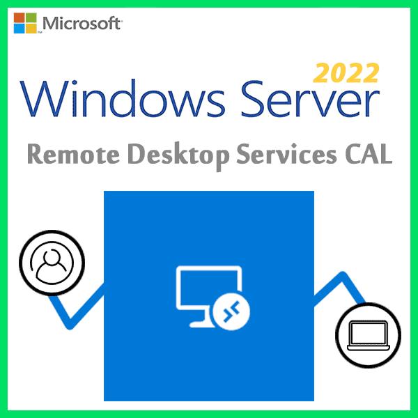 Windows Server 2022 Remote Desktop Services CAL