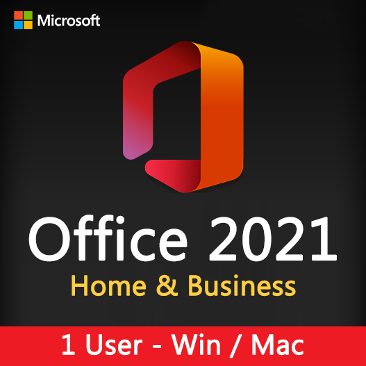 Office 2021 Home & Business for Windows and Mac License Key 1 User