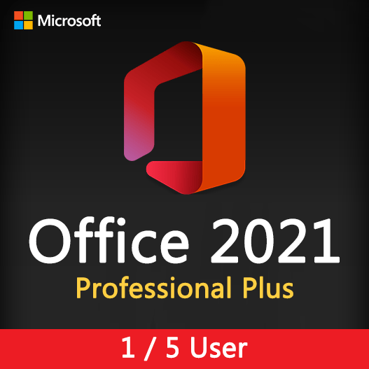 Office 2021 Professional plus License Key for 1,5 user